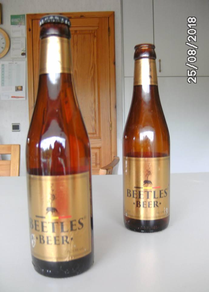 Beetles Beer brasserie De Brabandere Belgique Taupe110