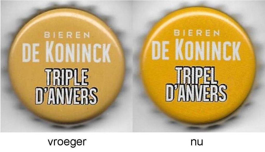 Brasserie De Koninck  Anvers Belgique Triple10