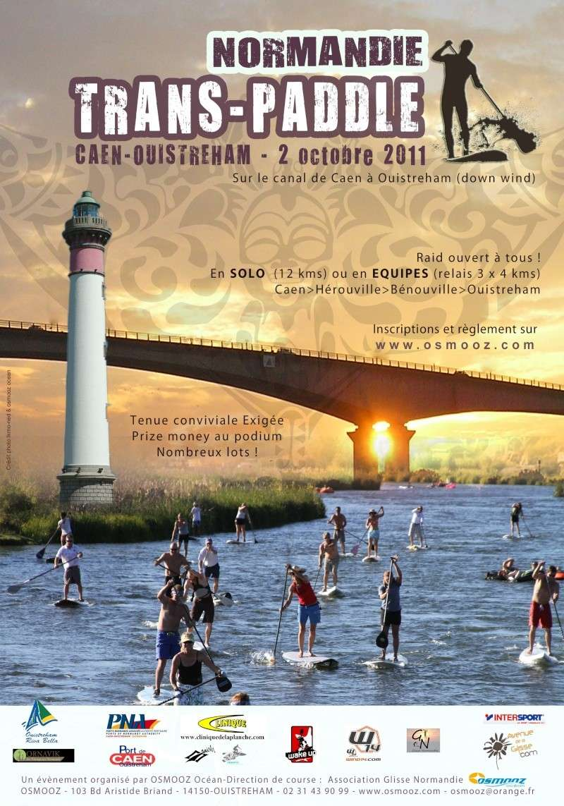 Normandie Trans-Paddle (Race) 2 Octobre 2011 Affich10