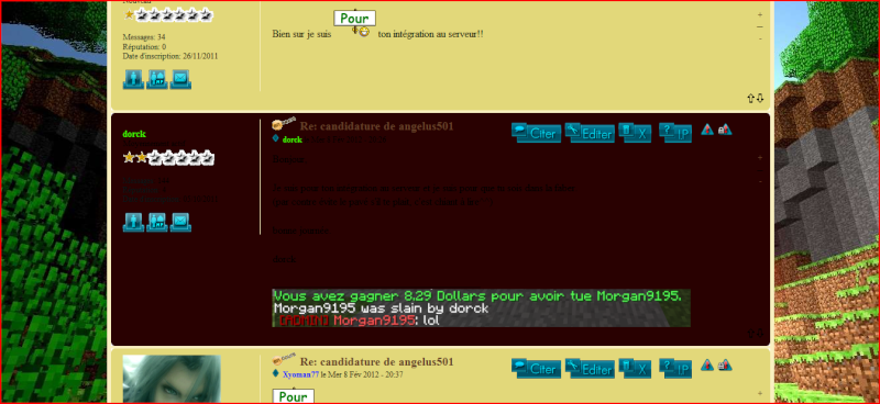 """Message """"rouge"""" Screen16"""