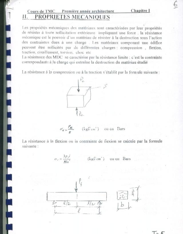 Cours TMC CHAPITRE I P510