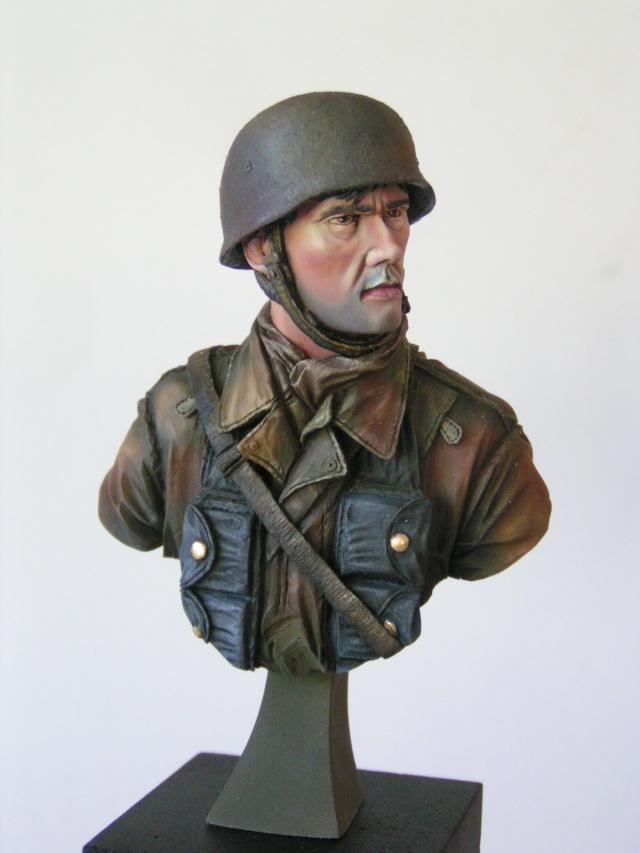 """Buste parachutiste allemand normandie 44 """"laurent Borget"""" Pict0013"""
