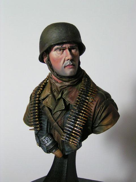 """Buste parachutiste allemand normandie 44 """"laurent Borget"""" Pict0020"""