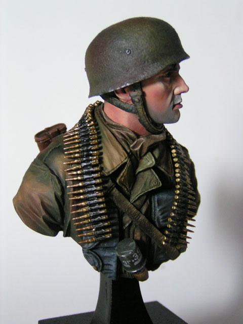 """Buste parachutiste allemand normandie 44 """"laurent Borget"""" Pict0021"""