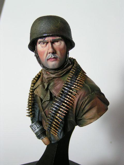 """Buste parachutiste allemand normandie 44 """"laurent Borget"""" Pict0022"""