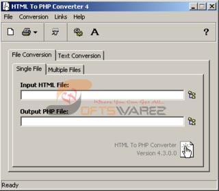HTML To PHP Converter V4.3.0.0  Html10