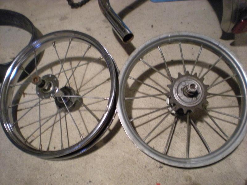Projet Vélo Rouge  Roues10