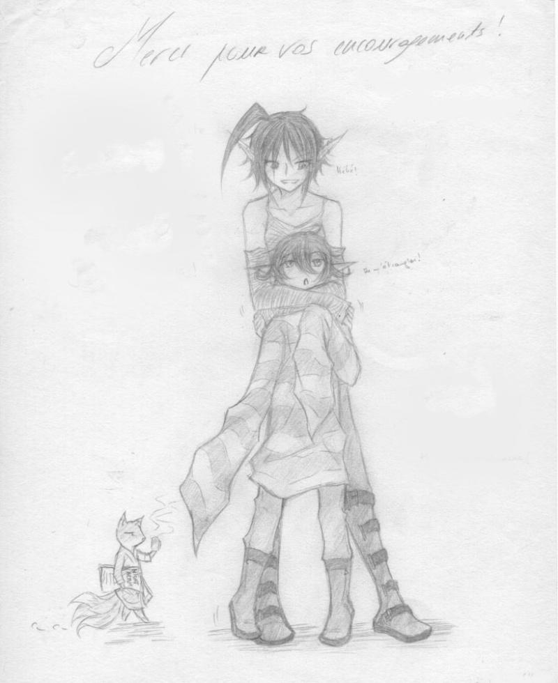 Parce qu'une baka, ça sait tenir un crayon ~  Kuro_y10