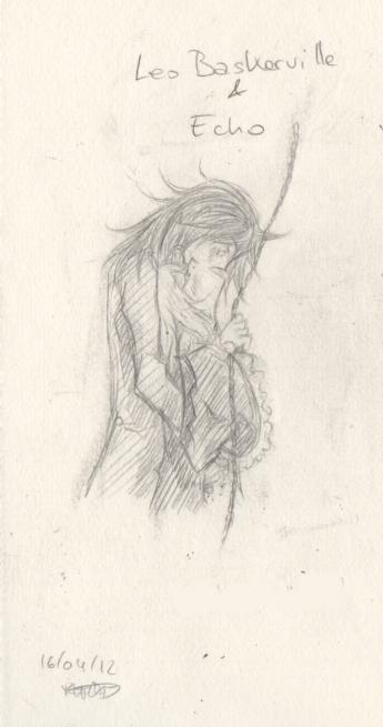 Parce qu'une baka, ça sait tenir un crayon ~  Leoxec11