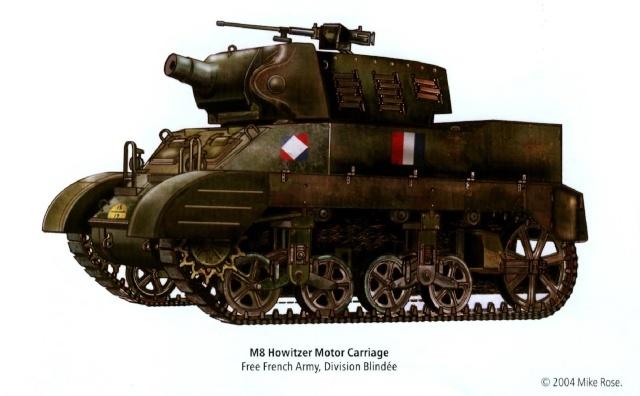 Le M8 US HOWITZER au 1/35è Tamiya par l'Ancien Staurt10
