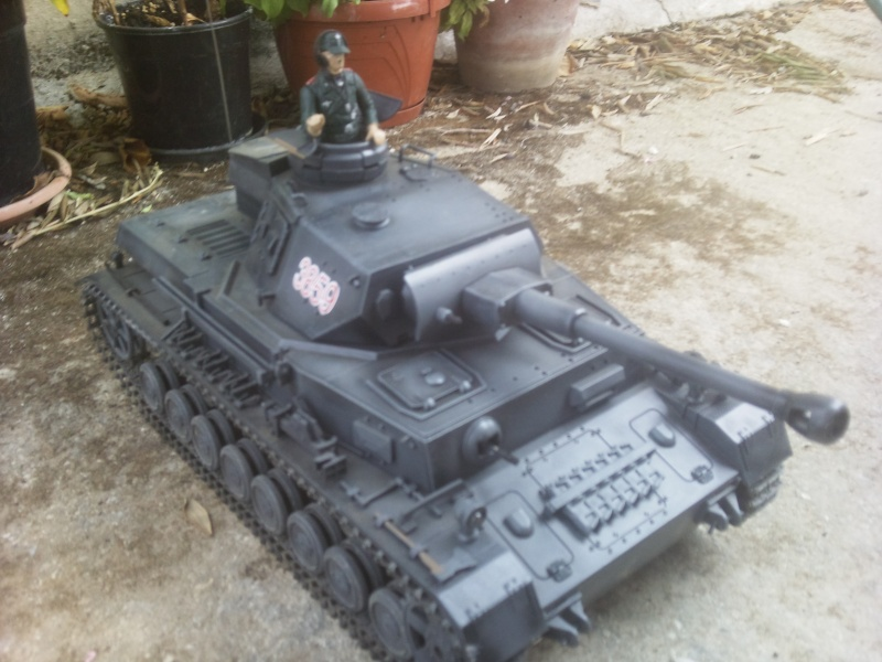 Panzer IV RC 1:16 GRIGIO torro 26082015