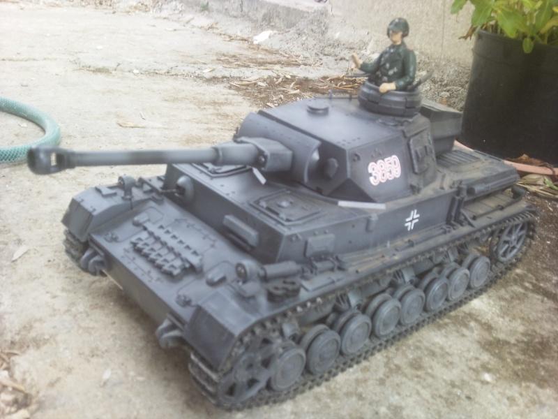 Panzer IV RC 1:16 GRIGIO torro - Pagina 3 26082017