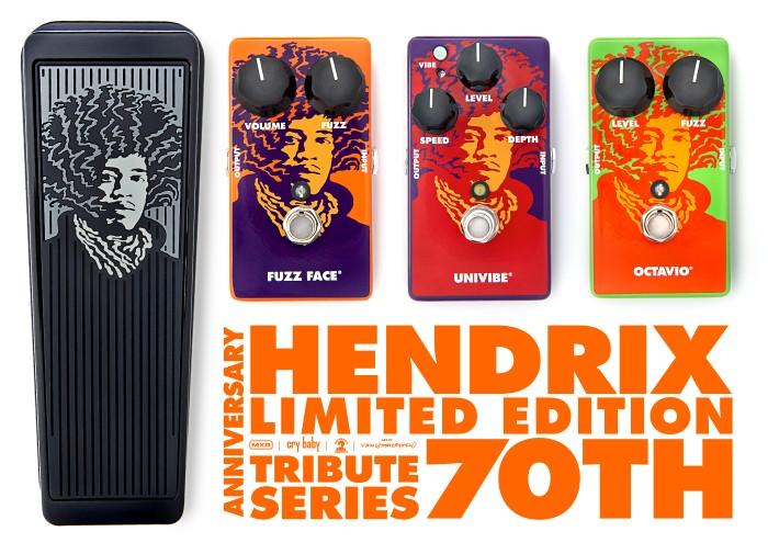 Jimi Hendrix 70th Anniversary Tribute Series - MXR/Dunlop Hendri18