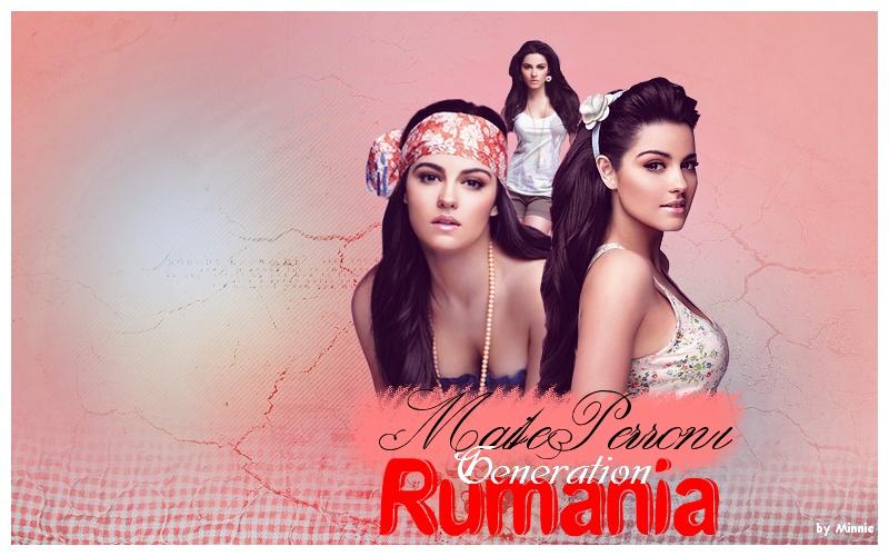 Maite Perroni Generation Rumania