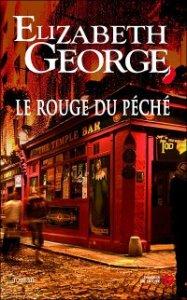 LE ROUGE DU PECHE d'Elisabeth George Arton110