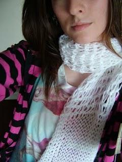 Knitted scarf Dscf2513