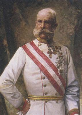 François-Joseph Ier de Habsbourg Empereur d'Autriche Franco10