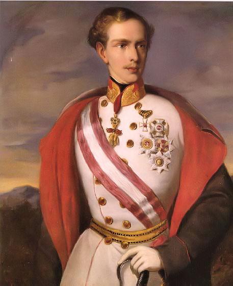 François-Joseph Ier de Habsbourg Empereur d'Autriche Franzj10