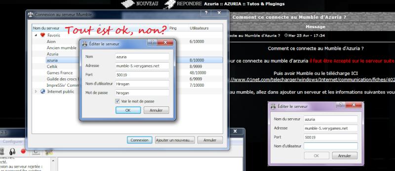 Comment ce connecte au Mumble d'Azuria ? Wtf10