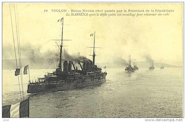 Cuirassés français - Page 14 1911_910