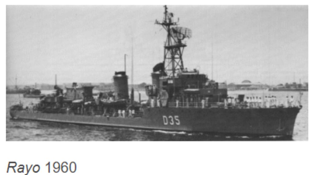 Destroyers; torpilleurs et avisos torpilleurs espagnols 4_rayo10