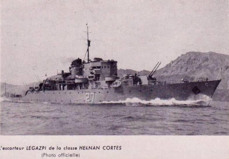 Les sous marins; escorteurs; mouilleurs de mines espagnols.  8_lega10