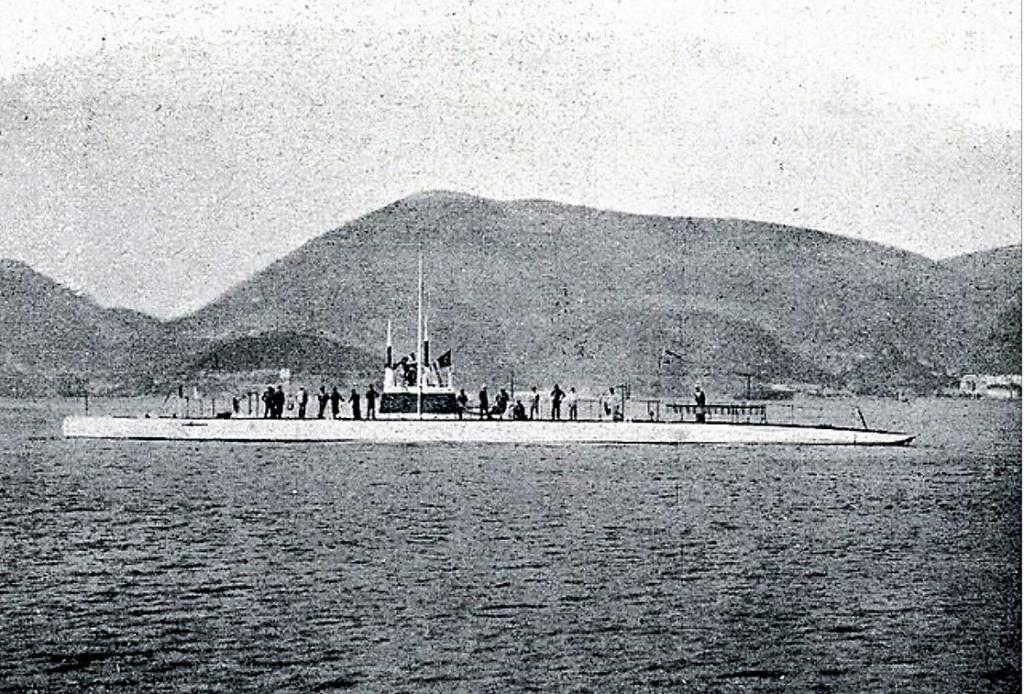 Les sous marins; escorteurs; mouilleurs de mines espagnols.  A2_cos10