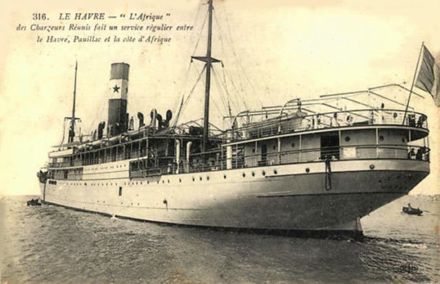 Il y a 100 ans le naufrage oublié de l'Afrique  Afriqu10