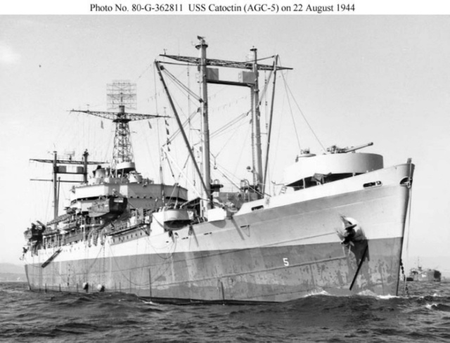 AMPHIBIOUS FORCE COMMAND SHIP (LCC) CLASSE BLUE RIDGE (Fini) Agc5_c10