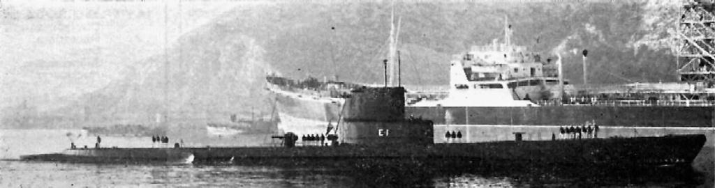 Les sous marins; escorteurs; mouilleurs de mines espagnols.  Almira25