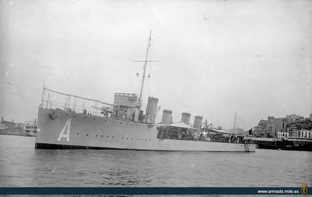 Destroyers; torpilleurs et avisos torpilleurs espagnols Alsedo10