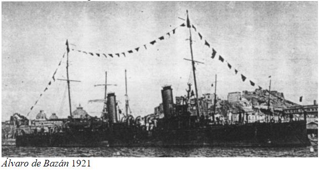 Destroyers; torpilleurs et avisos torpilleurs espagnols Alvaro10