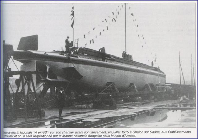 Les sous-marins japonais jusqu'en 1945 Armide10