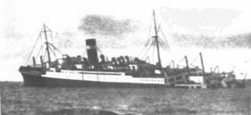 3 septembre 1939 le paquebot Athenia est torpillé par l'U30 Atheni10