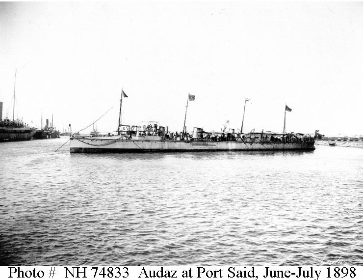 Destroyers; torpilleurs et avisos torpilleurs espagnols Audaz_10
