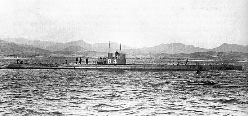 Les sous marins; escorteurs; mouilleurs de mines espagnols.  B4_b4210
