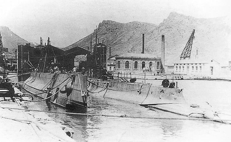 Les sous marins; escorteurs; mouilleurs de mines espagnols.  B5_03b10