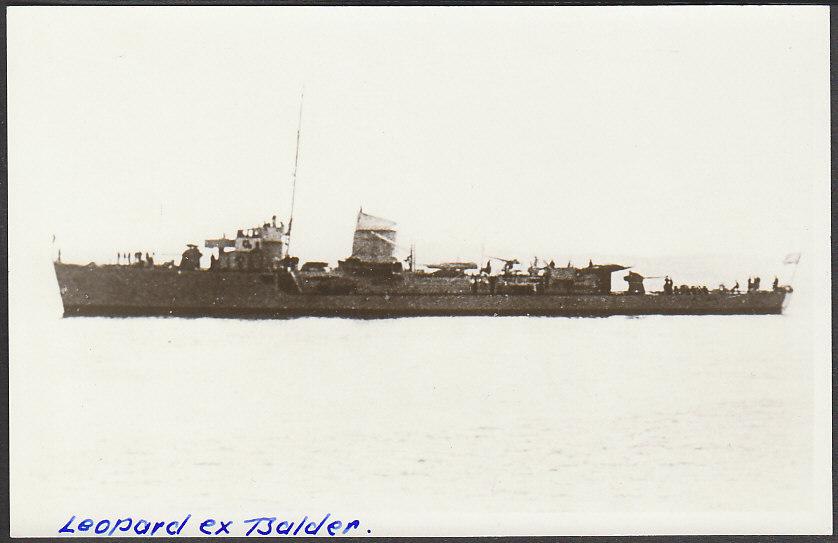 Marine norvégienne  Balder10