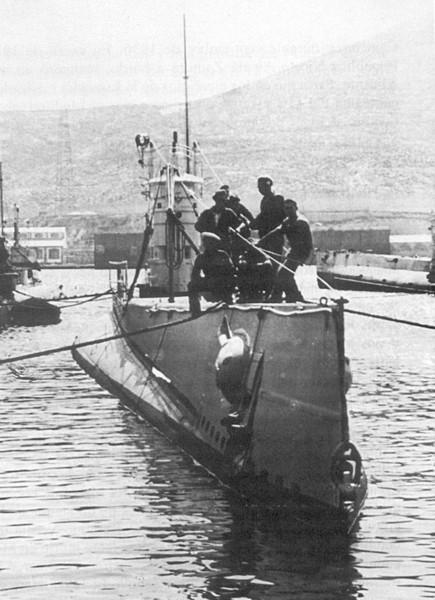 Les sous marins; escorteurs; mouilleurs de mines espagnols.  C6_04c10
