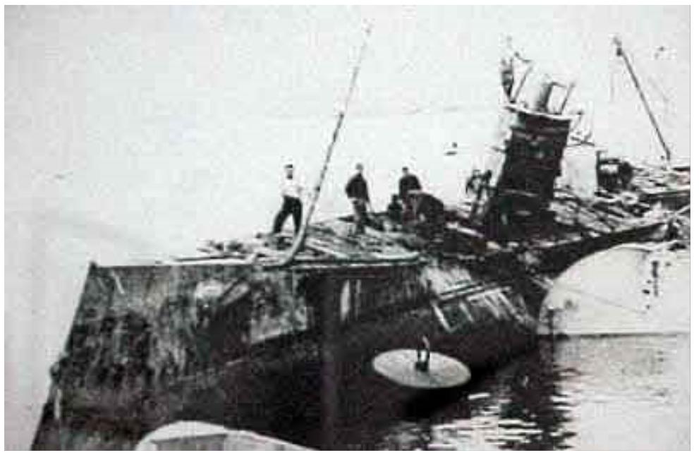 Les sous marins; escorteurs; mouilleurs de mines espagnols.  C6_19310