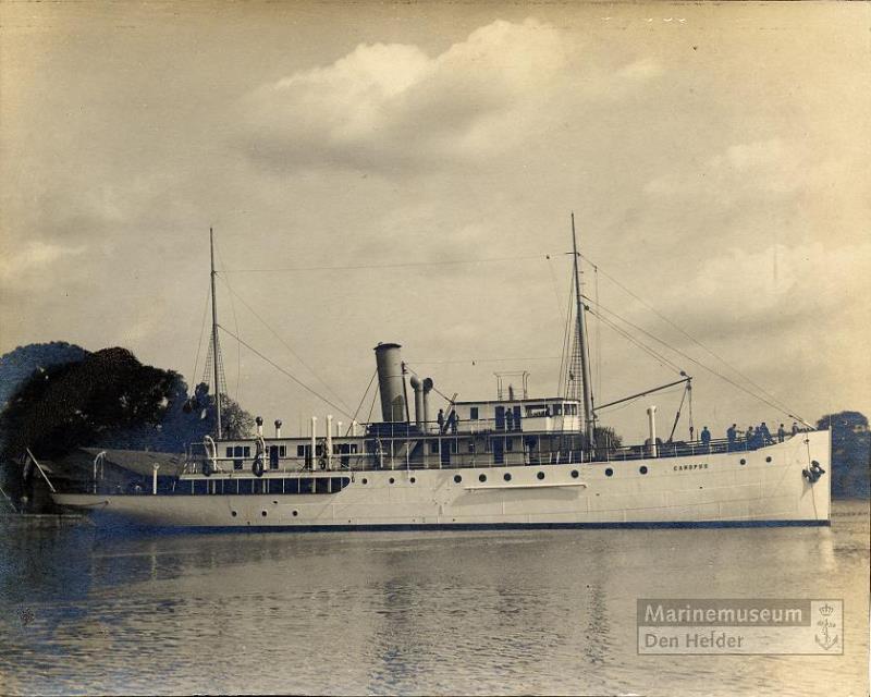La Marine néerlandaise sauf cuirassés,croiseurs,destroyers  - Page 2 Canopu10