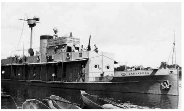 Marine Colombienne Cartag10
