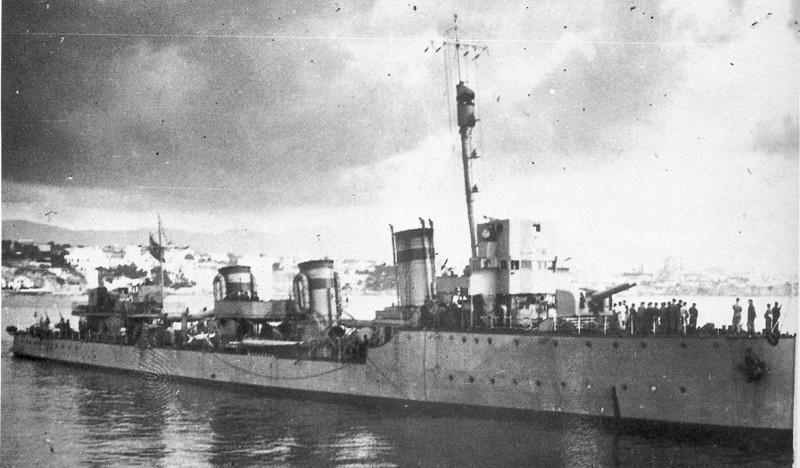 Destroyers; torpilleurs et avisos torpilleurs espagnols Ceuta10