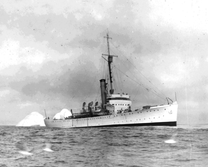 Les navires du Coast Guard Service des Etats-Unis Champl10