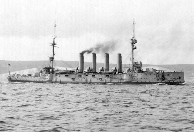 22 septembre 1914 le triplé d'Otto Weddigen  Cressy10