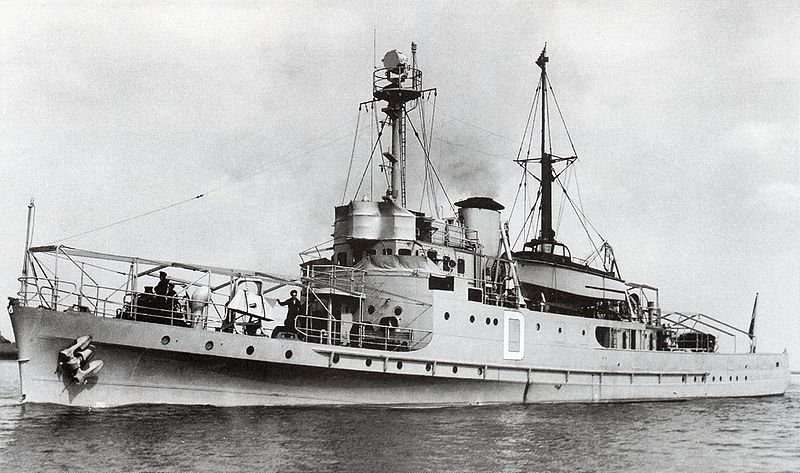 La Marine néerlandaise sauf cuirassés,croiseurs,destroyers  D_elan11