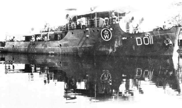 La Marine néerlandaise sauf cuirassés,croiseurs,destroyers  Djomba10