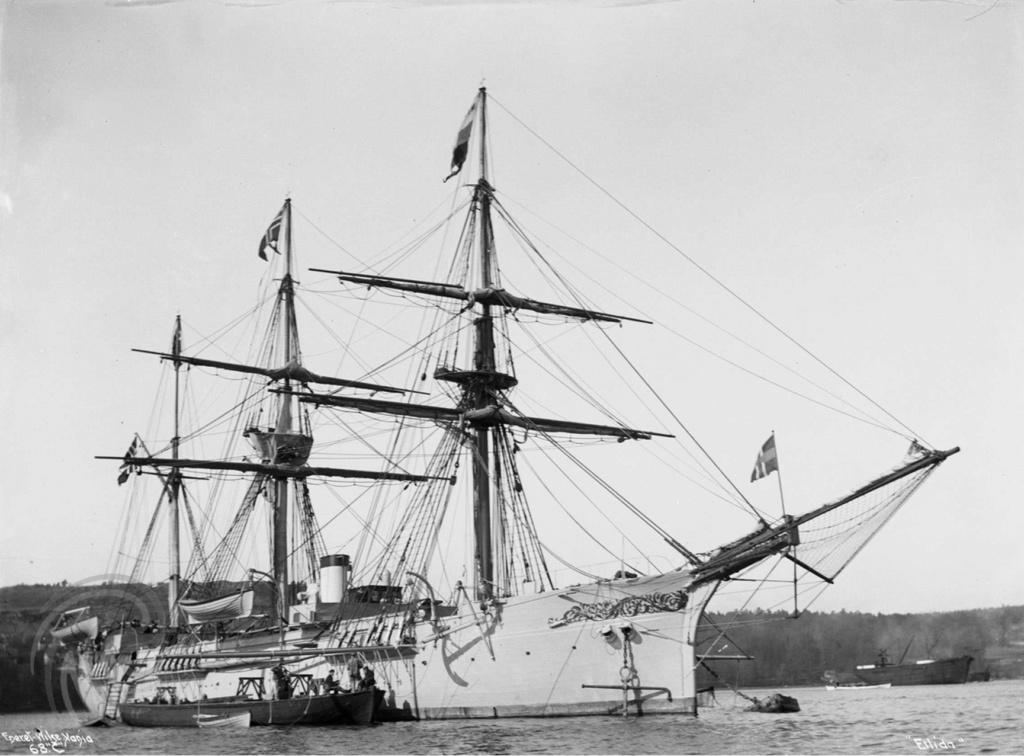 Marine norvégienne  Ellida10