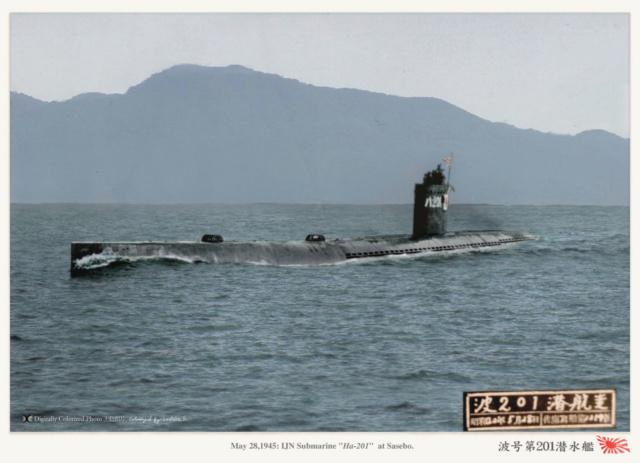 Les sous-marins japonais jusqu'en 1945 - Page 4 Ha_20110