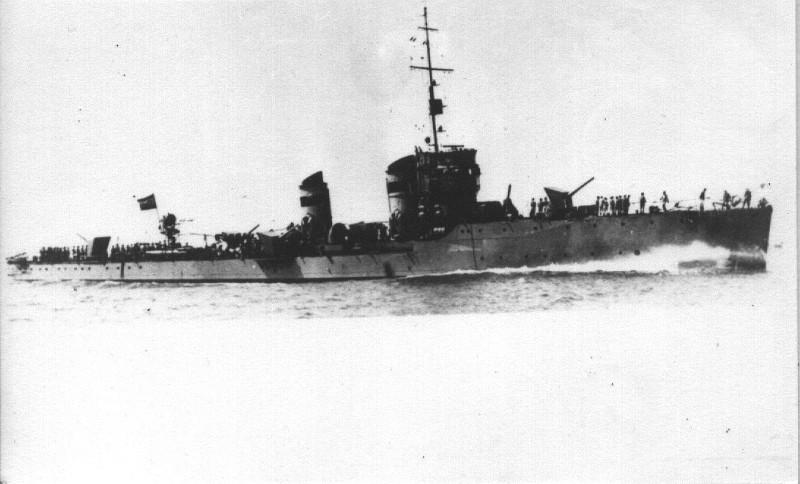 Destroyers; torpilleurs et avisos torpilleurs espagnols Huesca10